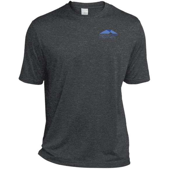 AAC Client: Nashville Roof Consultants: Sport-Tek Tall Heather Dri-Fit Moisture-Wicking T-Shirt