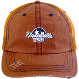 Nashville Strong (Official) - Distressed Trucker Cap