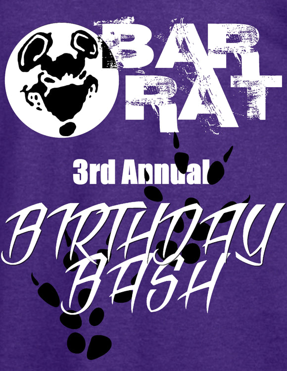 AAC: Special Request: BarRat's 3rd Birthday Bash Official Tee