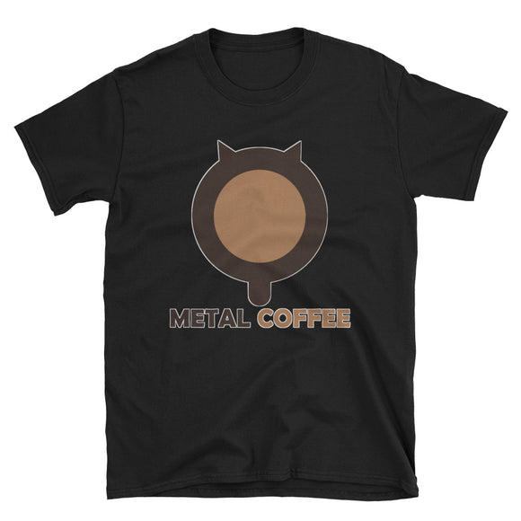 Metal Coffee: Logo Tee