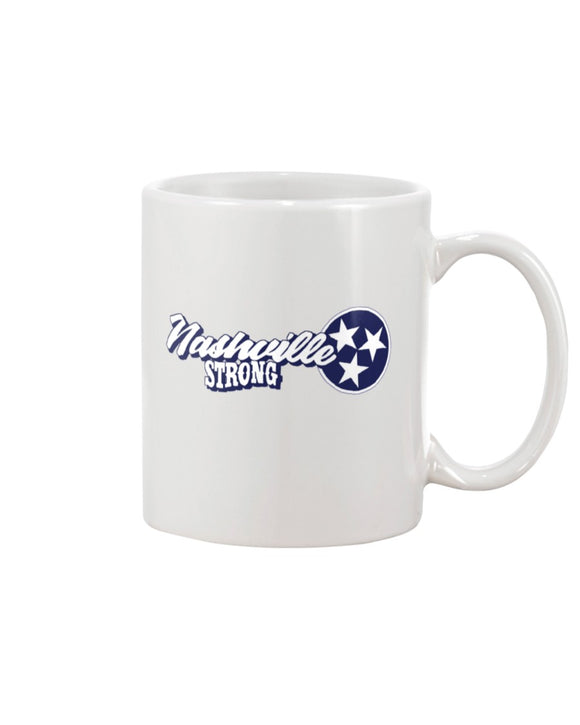 Nashville Strong (Official) - 11oz Mug - Text Logo 2