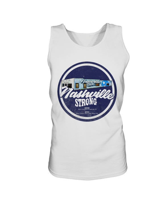 Nashville Strong (Official) - Gildan Ultra Cotton Tank - BC Round