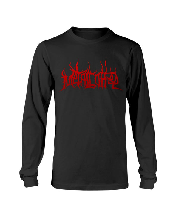 AAC: Client: Metal Coffee: Long Sleeve Tee
