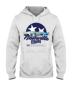 Nashville Strong (Official) - Jerzees 50/50 Hoodie - BC Star