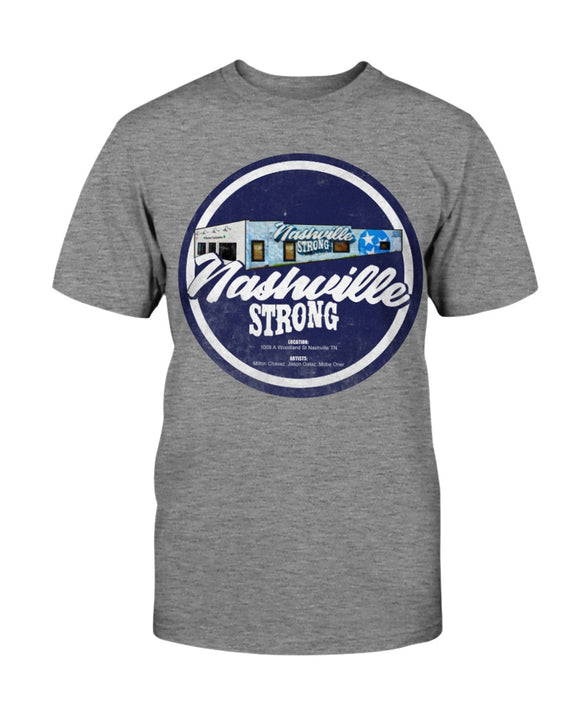 Nashville Strong (Official) - Bella + Canvas Unisex T-Shirt - BC Round