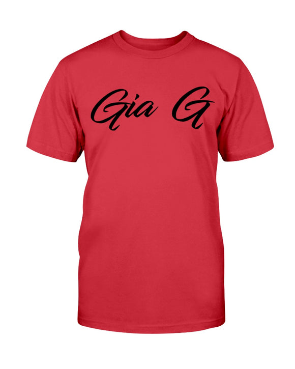 Metal Coffee: Gia G: Red Ultra Cotton T-Shirt (s-5x)
