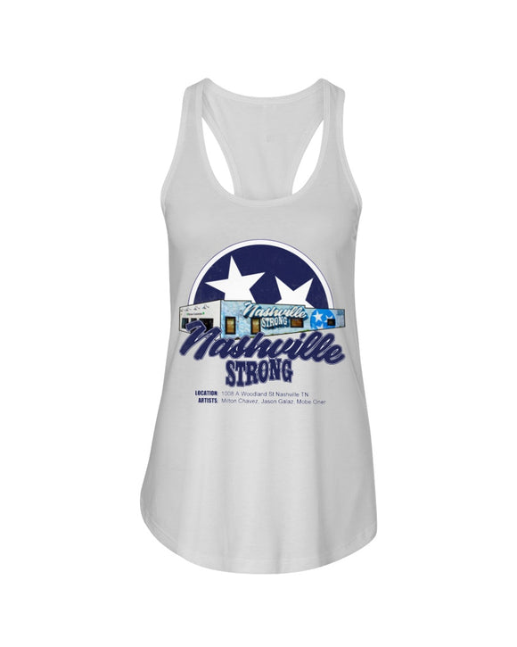 Nashville Strong (Official) - Next Level Ladies Racerback Tank - BC Star