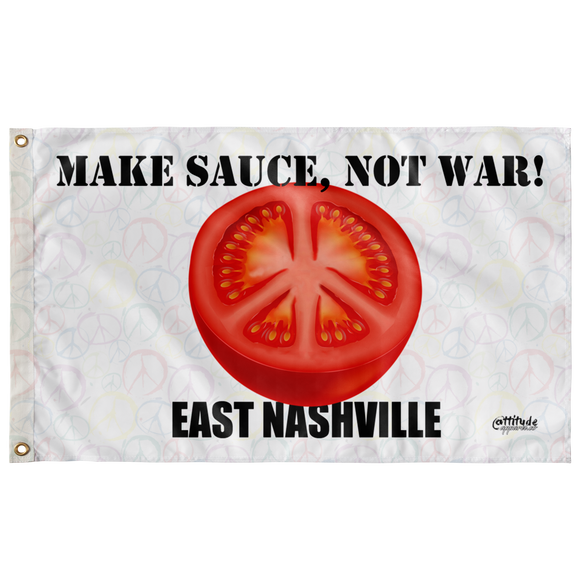 AAC Client: East Nashville: Sauce Not War Flag