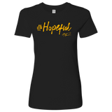 "AAC: Hope Disguised: ""Hopeful"" Form Fitted Tee"