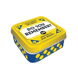 Do you remember game in a tin