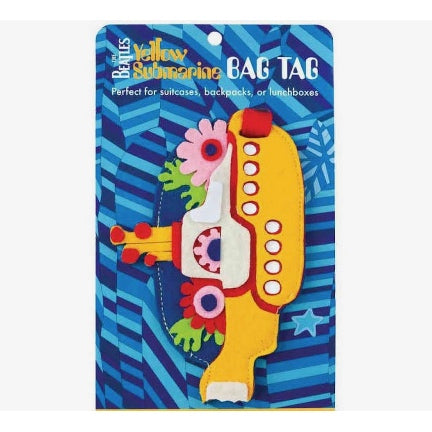 yelow submarine Bag Tag