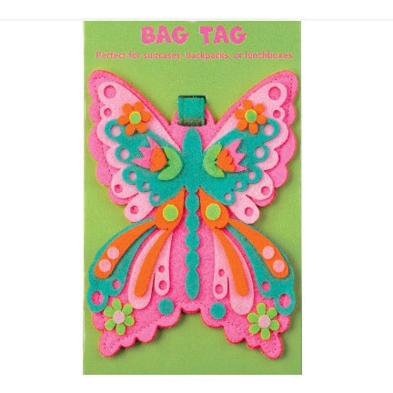 Butterfly Bag Tag