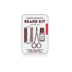 Gentlemans beard kit for travel