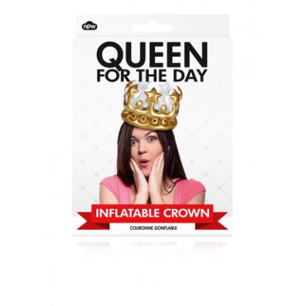 Queen For The Day - Inflatable Crown