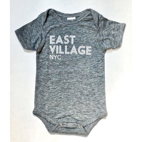 East Village NYC Baby Onesie