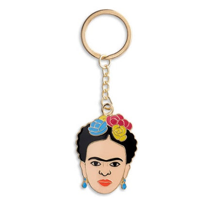 Frida Khalo key chain
