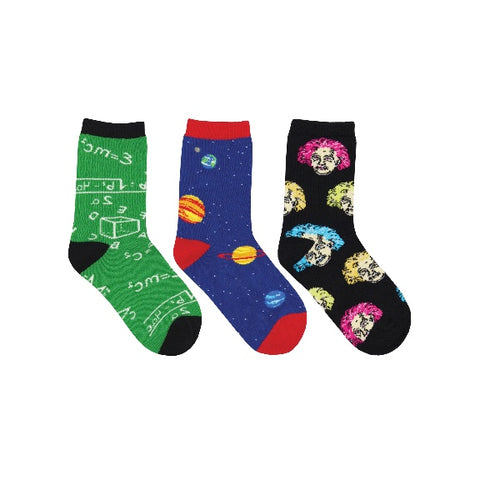 Relatively Awesome  3-Pack Kid's Socks