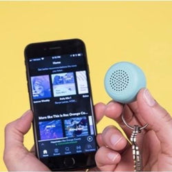 Micro speaker keyring with big sound