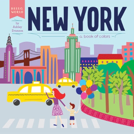 New York : A Book Of Colors
