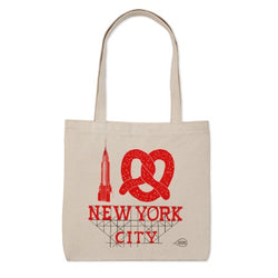 new york city tote bag by claudia pearson