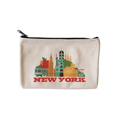 NY  Cityscape zippered pouch