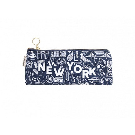 New York Denim Pencil pouch