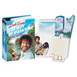 Bob Ross sticky notes booklet
