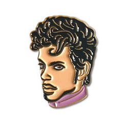 prince enamel lapel pin by the found