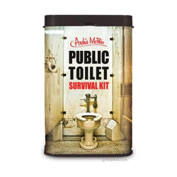 Public toielt emergency survival tin