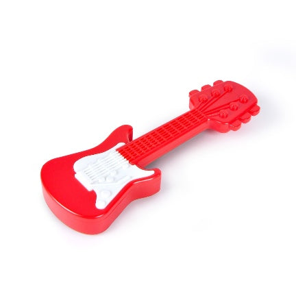 Red rattle axe by fred for babies