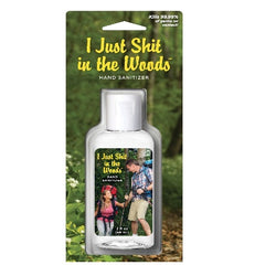 I just shit in the woods Hand sanitizer by blueQ