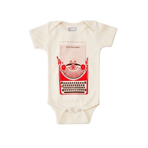 So My Story Begins Onesie
