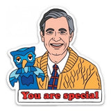 Mr Rogers Vinyl Sticker