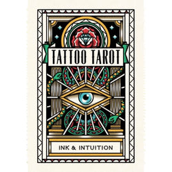 Tattoo tarot card deck in box