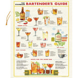 bartender's Guide Tea Towel