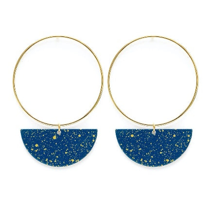 Starry night earrings by Amano studio