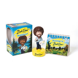 Bob Ross talking bobblehead kit with easel