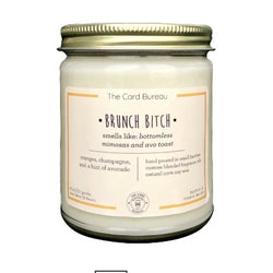Brunch bitch candle in jar