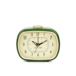Retro Style Alarm Clock-Green