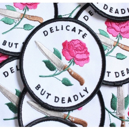 Delicate But Deadly Iron Patch