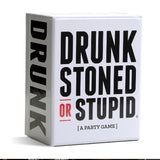 Drink , stoned or stupid party game