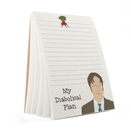 My Diabolical Plan Note pad