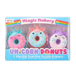 Unicorn Donut scented Erasers