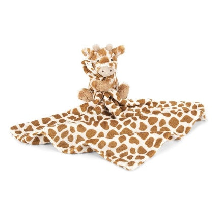 Jellycat giraffe soother blanket