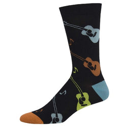 Men's Bamboo Listen To The Music Socks