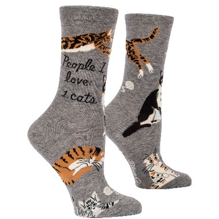 People I love: Cats  Crew Sock