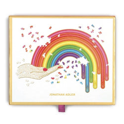 Jonathan Adler rainbow hand boxed puzzle