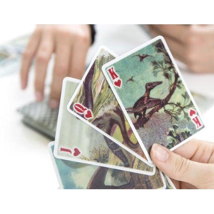 Dinosaur lenticular playing cards