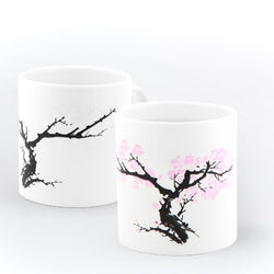 Cherry Blossom morph mug ,heat changing