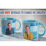 Mister rogers heat changing mug